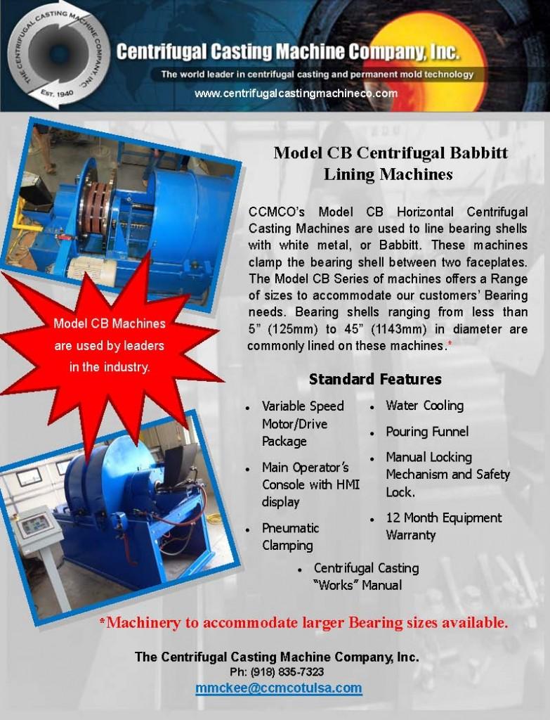 babbitt bearing-CB brochure